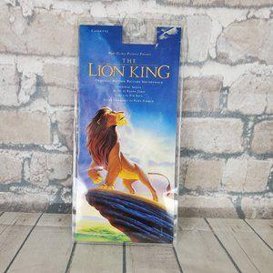 Vintage 1992 Disney The Lion King Cassette